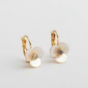 { Kate Spade } Disco Pansy Drop Earrings